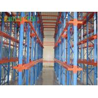 Buy cheap Customized Warehouse Storage Drive In Pallet Racking Heavy Duty 3 - 12 Pallets Depth from wholesalers