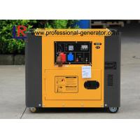 Buy cheap 4.5kw Portable Diesel Generator / Electric Generator 7.8H Continuous Running Time from wholesalers