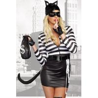 Buy cheap Sexy Cat Burglar Halloween Costume Adult Costumes for Carnival Christmas Halloween from wholesalers