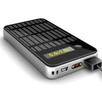 Portable Universal Rechargeable Power Bank With Solar Panels For IPod / DV