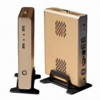 Buy cheap Intel Atom N270 Mini PC, Thin Client Supports 32bit Color, Widescreen Resolution Up to 1440 x 900 from wholesalers