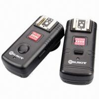 Wholesale 3-in-1 2.4GHz Wireless Flash Triggers, Wake-up for Canon, with Umbrella Holder from china suppliers
