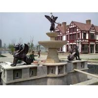 Wholesale City Landscape Sculpture Bronze Fountain from china suppliers