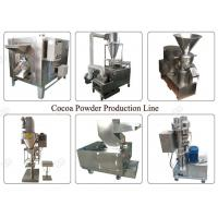 Buy cheap Industrial Cocoa Powder Production Line , Nut Processing Machine 50 Kg/H Capacity from wholesalers