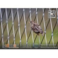 Buy cheap 316L Stainless Steel Wire Cable Bird Cage for Zoo Enclosure | China Zoo Mesh Factory from wholesalers