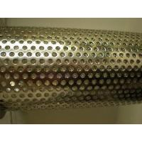 Buy cheap Round Hole Perforated Metal Sheet / Roll from wholesalers