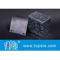 Buy cheap Steel Square Junction Box , Electrical Boxes And Covers For Lighting Fixtures from wholesalers