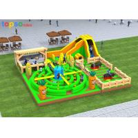 Buy cheap Interactive Sport Kids Inflatable Playground Inflatable Children'S Playground Equipment from wholesalers