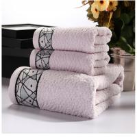 Buy cheap New Household 100% Cotton Beach Face Towel Set Printed for Adults   Baby Bath Towel Set from wholesalers