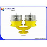 Long Life Solar Obstruction Light For Wind Turbines /  High Rise Building Manufactures