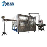 Buy cheap 0.3 - 2L Aseptic Carbonated Soft Drink Filling Machine Liquid Bottling Equipment 24 Heads from wholesalers