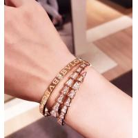 Buy cheap Fashion 18K Gold Charm Bracelet Custom Made With Diamond And Gemstone from wholesalers