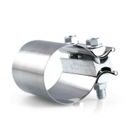 Buy cheap Stainless Steel Butt Joint Exhaust Repair Clamp Perfect Sealing Muffer / Downpipe  Clamp from wholesalers