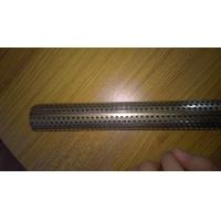 Aluminum / Stainless Steel 304 Straight Perforated Metal Tube For Industry Manufactures