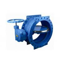 Buy cheap 125 Lbs / 200psi Double Eccentric Butterfly Valve With Handwheel 2 - 120 Size from wholesalers