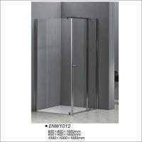 Buy cheap Square Shaped Pivot Door Shower Enclosures Tempered Glass Shower Screen from wholesalers