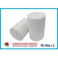 Strong And Soft PET Non Woven Fabric Roll Silicone Free Hygiene Multi - Purpose Manufactures