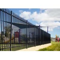 Buy cheap Decorative Garden Stainless Steel Fence / Gate With Anti - Theft Screws from wholesalers