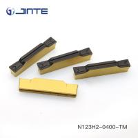 Buy cheap Tungsten Carbide Grooving Insert N123H2-0400-TM Hard Metal Machining from wholesalers