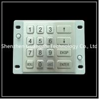 Buy cheap Waterproof Atm Pin Keypad , Easy Installation Encrypted Keypad For Kiosk from wholesalers