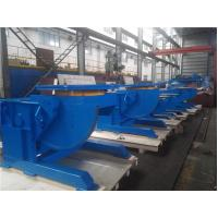 Buy cheap Industry Pipe Table Top Welding Positioners With Manual Tilting And Motorized Rotaion from wholesalers