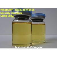 Buy cheap USP36 Legal Injectable Steroids Test enan Muscle building Safety clearance from wholesalers