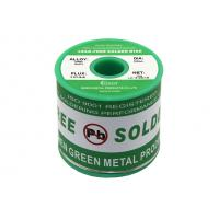 Buy cheap Green Lead Free Soldering Wire Material 0.3mm - 3.0mm Diameter Rosin Core from wholesalers