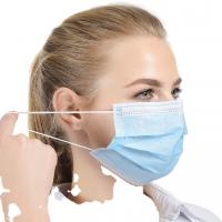Buy cheap Breathable Blue Face Mask / Disposable Mouth Mask Multi Layered Stereo Design from wholesalers