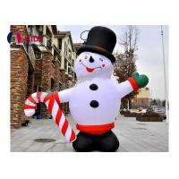 Buy cheap Happy Grinch Inflatable Holiday Decoration Christmas Advertise Hello Snowman Balloon Lights from wholesalers
