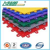Wholesale PP Anti Aging Interlocking Rubber Floor Tiles Play Mat Flooring 2500N from china suppliers