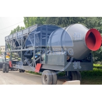 Buy cheap Mini Central Mix Portable Wet 50m3/H Mobile Concrete Batching Plant from wholesalers