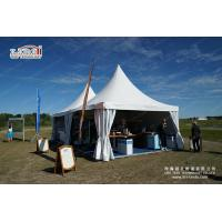 Buy cheap 5x5m high peak pagoda canopy tent for sale from wholesalers