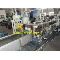 PP PE Master Batch Making Machine / Extruder Machinery With Two Screw Manufactures