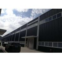 Buy cheap Q345B Structural Steel Warehouse , Fast Assembled Prefab Building Construction product