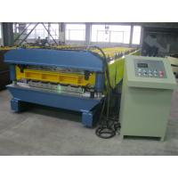 High Speed Double Layer Roll Forming Machine Automatic Hydraulic Cutting Manufactures
