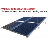 Buy cheap Central Heating System Vacuum Tube Hot Water Solar Collector OEM Service product