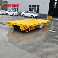 Buy cheap Remote Control Pallet Transfer Carts , Industrial 1-500T Coil Transfer Cart from wholesalers