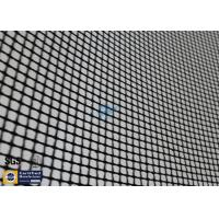 Buy cheap PTFE Coated Fiberglass Mesh Fabric Black 4X4MM 580G Textile Dryer Conveyor Belt from wholesalers