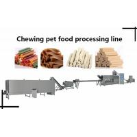 Buy cheap pet chewing gum processing line/dog chew bones machine/pet chewing gum/pet chewing gum granulator from wholesalers