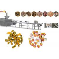 Buy cheap Intelligent Dog Chewing Food Extruder Machine 100kg/Hr Pet Food Extruder from wholesalers