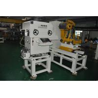 Buy cheap Hydraulic Heavy Material Rack Punch Decoiler Straightener Feeder Automatic Leveling Uncoiler from wholesalers