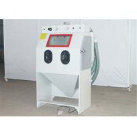 Buy cheap Small Parts Manual Sandblasting Cabinet , 550W Power Glass Beads Blast Cabinet from wholesalers