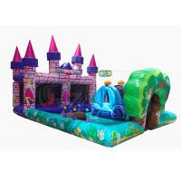 Buy cheap Commercial Inflatable Bounce House Combo Princess Castle Play Zone Customized Size from wholesalers