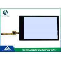 Buy cheap Small Capacitive LCD Touch Screen Panel USB Black Frame Anti Glare Glass from wholesalers