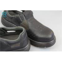 Buy cheap Clean Room Dissipating Steel Toe Work Anti Static Shoes For Mens , Black Color from wholesalers