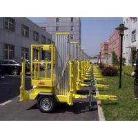 Buy cheap 10m Platform Height Aluminium Alloy Trailer Mounted Aerial Work Platform Lift from wholesalers