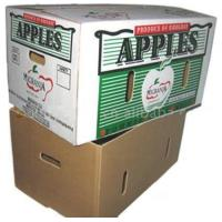 Wholesale corrugated box for packing apples from china suppliers