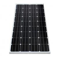 Wholesale Silver / Black Frame Mono Crystal Solar Panel 150W With +/-3% Power Tolerance from china suppliers