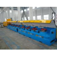 Buy cheap 8mm - 16mm Mechanical Wire Descaler Machine , High Speed Wire Processing Machine from wholesalers