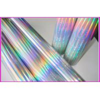Buy cheap Over printable flexo holographic cold foil for paper from wholesalers